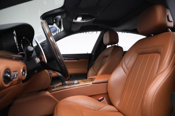 New 2018 Maserati Quattroporte S Q4 for sale Sold at Aston Martin of Greenwich in Greenwich CT 06830 15
