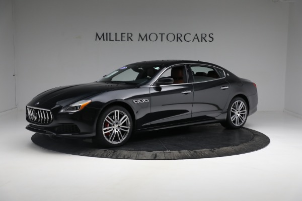 New 2018 Maserati Quattroporte S Q4 for sale Sold at Aston Martin of Greenwich in Greenwich CT 06830 3