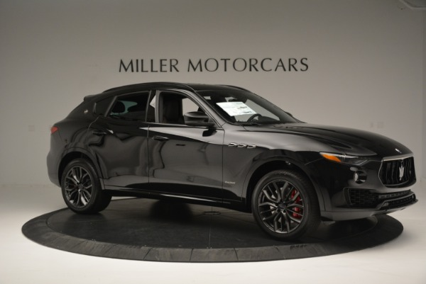 New 2018 Maserati Levante S Q4 GranSport Nerissimo for sale Sold at Aston Martin of Greenwich in Greenwich CT 06830 10