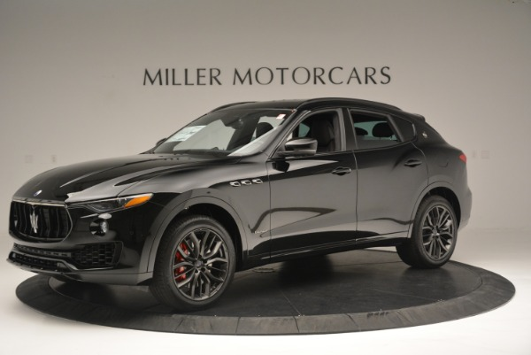 New 2018 Maserati Levante S Q4 GranSport Nerissimo for sale Sold at Aston Martin of Greenwich in Greenwich CT 06830 2