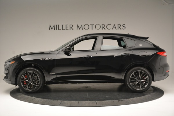 New 2018 Maserati Levante S Q4 GranSport Nerissimo for sale Sold at Aston Martin of Greenwich in Greenwich CT 06830 3