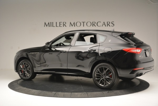 New 2018 Maserati Levante S Q4 GranSport Nerissimo for sale Sold at Aston Martin of Greenwich in Greenwich CT 06830 4