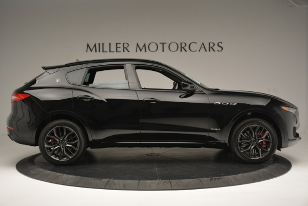 New 2018 Maserati Levante S Q4 GranSport Nerissimo for sale Sold at Aston Martin of Greenwich in Greenwich CT 06830 9