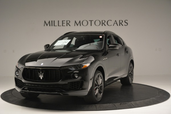 New 2018 Maserati Levante S Q4 GranSport Nerissimo for sale Sold at Aston Martin of Greenwich in Greenwich CT 06830 1