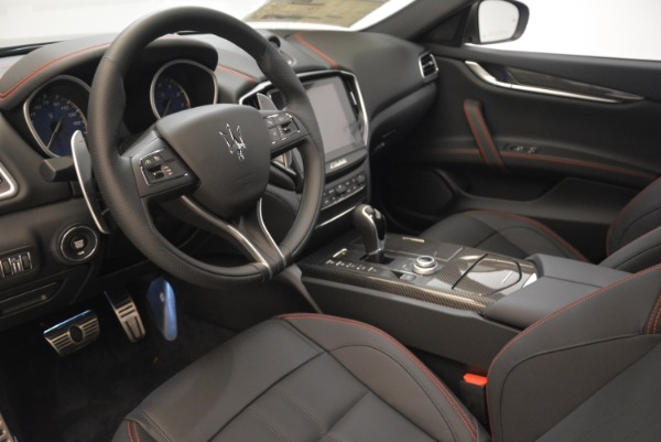New 2018 Maserati Ghibli SQ4 GranSport Nerissimo for sale Sold at Aston Martin of Greenwich in Greenwich CT 06830 13
