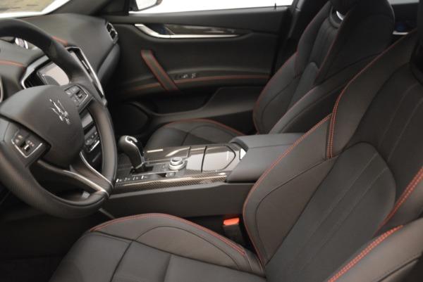 New 2018 Maserati Ghibli SQ4 GranSport Nerissimo for sale Sold at Aston Martin of Greenwich in Greenwich CT 06830 14