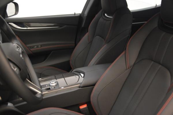 New 2018 Maserati Ghibli SQ4 GranSport Nerissimo for sale Sold at Aston Martin of Greenwich in Greenwich CT 06830 15