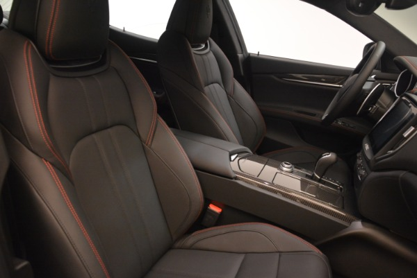 New 2018 Maserati Ghibli SQ4 GranSport Nerissimo for sale Sold at Aston Martin of Greenwich in Greenwich CT 06830 18