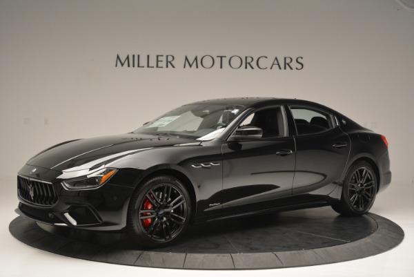 New 2018 Maserati Ghibli SQ4 GranSport Nerissimo for sale Sold at Aston Martin of Greenwich in Greenwich CT 06830 2