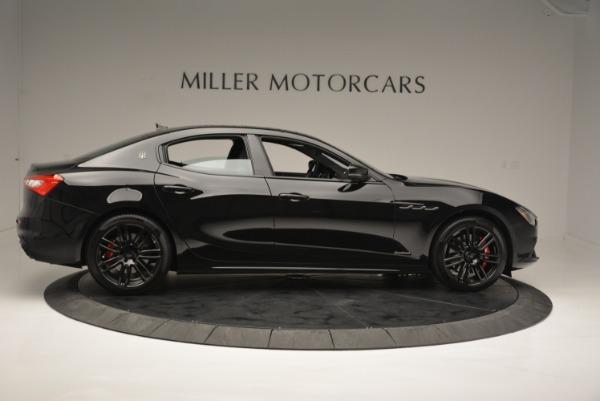 New 2018 Maserati Ghibli SQ4 GranSport Nerissimo for sale Sold at Aston Martin of Greenwich in Greenwich CT 06830 9