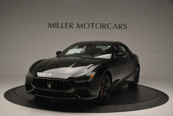 New 2018 Maserati Ghibli SQ4 GranSport Nerissimo for sale Sold at Aston Martin of Greenwich in Greenwich CT 06830 1