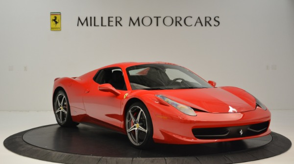 Used 2015 Ferrari 458 Spider for sale Sold at Aston Martin of Greenwich in Greenwich CT 06830 24