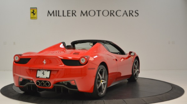 Used 2015 Ferrari 458 Spider for sale Sold at Aston Martin of Greenwich in Greenwich CT 06830 8