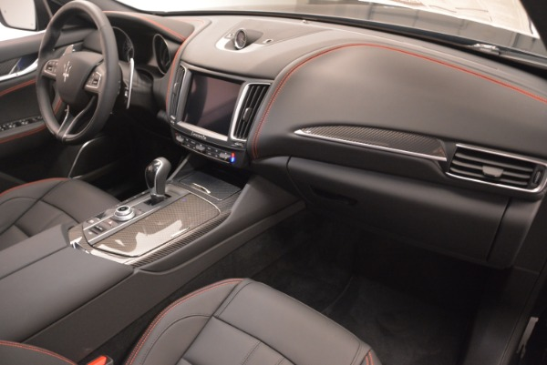 New 2018 Maserati Levante S Q4 GranSport Nerissimo for sale Sold at Aston Martin of Greenwich in Greenwich CT 06830 19
