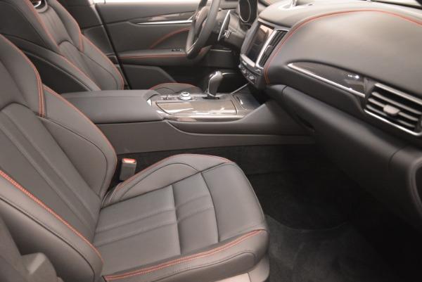 New 2018 Maserati Levante S Q4 GranSport Nerissimo for sale Sold at Aston Martin of Greenwich in Greenwich CT 06830 20