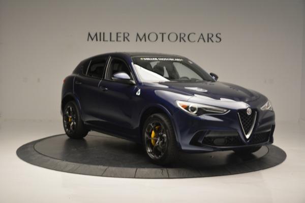 New 2018 Alfa Romeo Stelvio Quadrifoglio for sale Sold at Aston Martin of Greenwich in Greenwich CT 06830 11