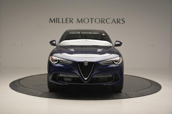 New 2018 Alfa Romeo Stelvio Quadrifoglio for sale Sold at Aston Martin of Greenwich in Greenwich CT 06830 12