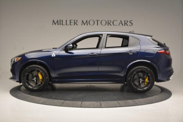 New 2018 Alfa Romeo Stelvio Quadrifoglio for sale Sold at Aston Martin of Greenwich in Greenwich CT 06830 3