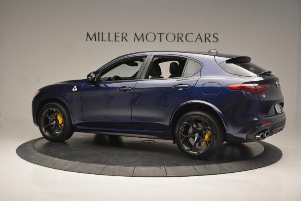 New 2018 Alfa Romeo Stelvio Quadrifoglio for sale Sold at Aston Martin of Greenwich in Greenwich CT 06830 4