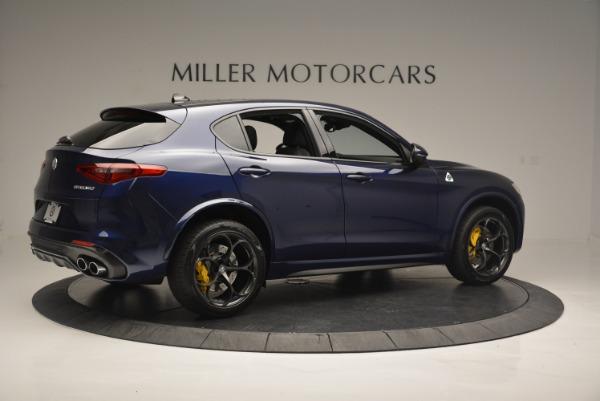 New 2018 Alfa Romeo Stelvio Quadrifoglio for sale Sold at Aston Martin of Greenwich in Greenwich CT 06830 8