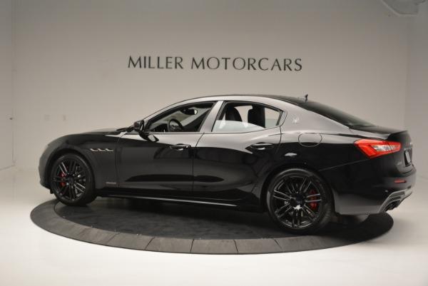 New 2018 Maserati Ghibli SQ4 GranSport Nerissimo for sale Sold at Aston Martin of Greenwich in Greenwich CT 06830 4