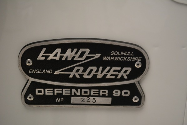 Used 1994 Land Rover Defender 130 Himalaya for sale Sold at Aston Martin of Greenwich in Greenwich CT 06830 23