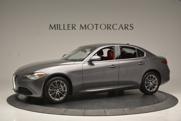 New 2018 Alfa Romeo Giulia Q4 for sale Sold at Aston Martin of Greenwich in Greenwich CT 06830 3