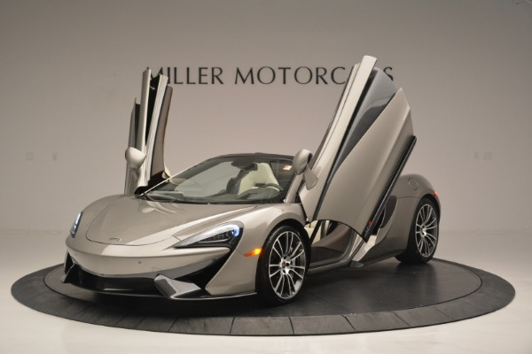 New 2018 McLaren 570S Spider for sale Sold at Aston Martin of Greenwich in Greenwich CT 06830 13