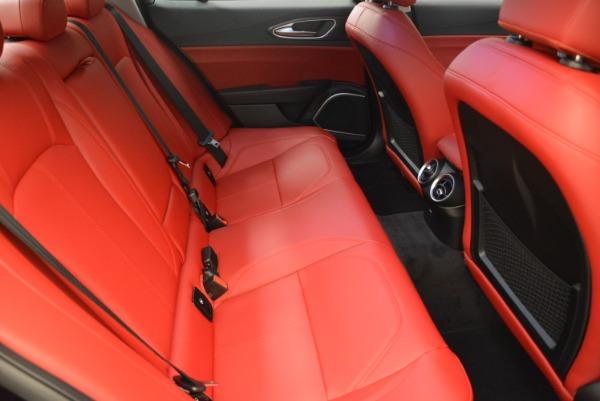 New 2018 Alfa Romeo Giulia Q4 for sale Sold at Aston Martin of Greenwich in Greenwich CT 06830 23