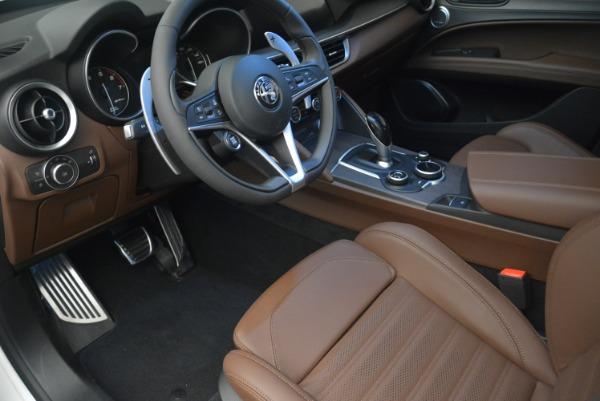 Used 2018 Alfa Romeo Stelvio Ti Sport Q4 for sale $32,900 at Aston Martin of Greenwich in Greenwich CT 06830 14