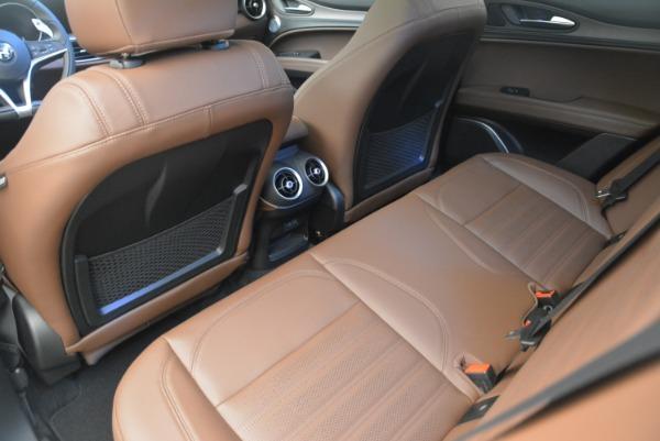 Used 2018 Alfa Romeo Stelvio Ti Sport Q4 for sale $32,900 at Aston Martin of Greenwich in Greenwich CT 06830 17