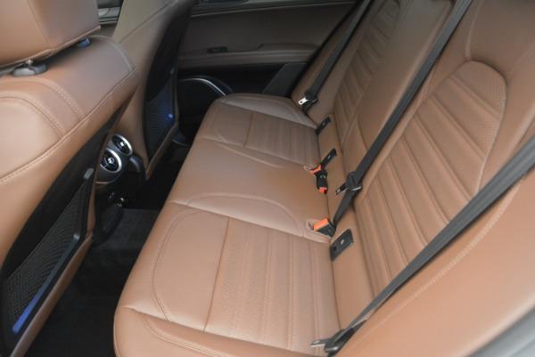 Used 2018 Alfa Romeo Stelvio Ti Sport Q4 for sale $36,900 at Aston Martin of Greenwich in Greenwich CT 06830 18
