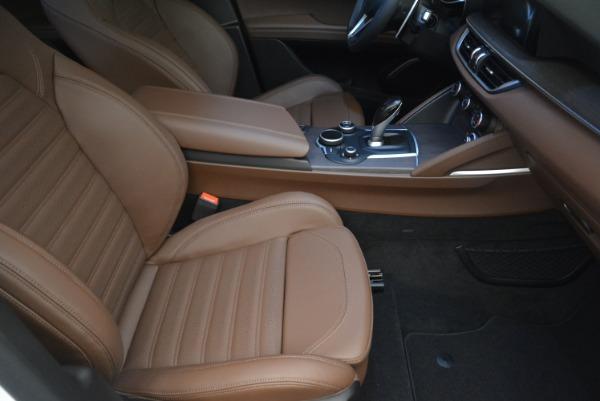 Used 2018 Alfa Romeo Stelvio Ti Sport Q4 for sale $32,900 at Aston Martin of Greenwich in Greenwich CT 06830 21