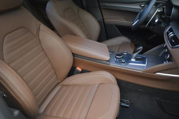 Used 2018 Alfa Romeo Stelvio Ti Sport Q4 for sale $36,900 at Aston Martin of Greenwich in Greenwich CT 06830 22