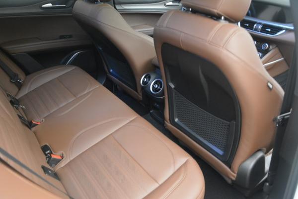 Used 2018 Alfa Romeo Stelvio Ti Sport Q4 for sale $32,900 at Aston Martin of Greenwich in Greenwich CT 06830 23