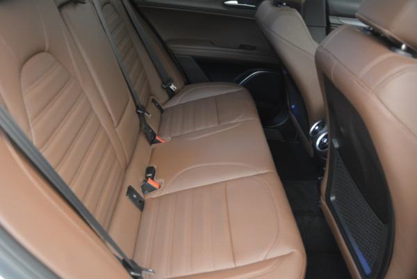Used 2018 Alfa Romeo Stelvio Ti Sport Q4 for sale $32,900 at Aston Martin of Greenwich in Greenwich CT 06830 24