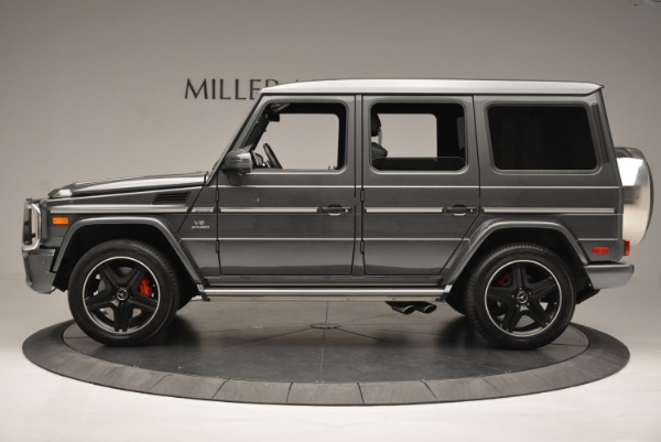 Used 2017 Mercedes-Benz G-Class AMG G 63 for sale Sold at Aston Martin of Greenwich in Greenwich CT 06830 3