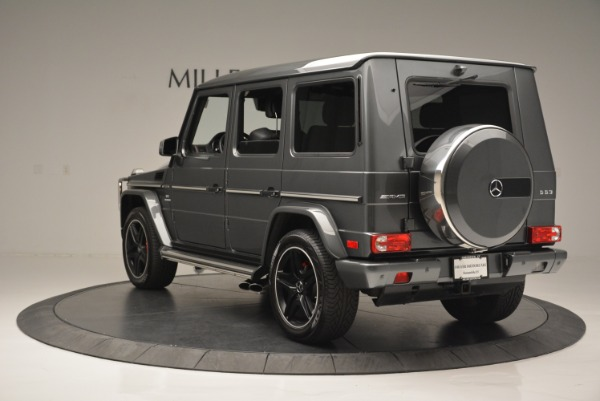 Used 2017 Mercedes-Benz G-Class AMG G 63 for sale Sold at Aston Martin of Greenwich in Greenwich CT 06830 5