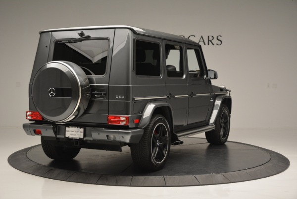 Used 2017 Mercedes-Benz G-Class AMG G 63 for sale Sold at Aston Martin of Greenwich in Greenwich CT 06830 7