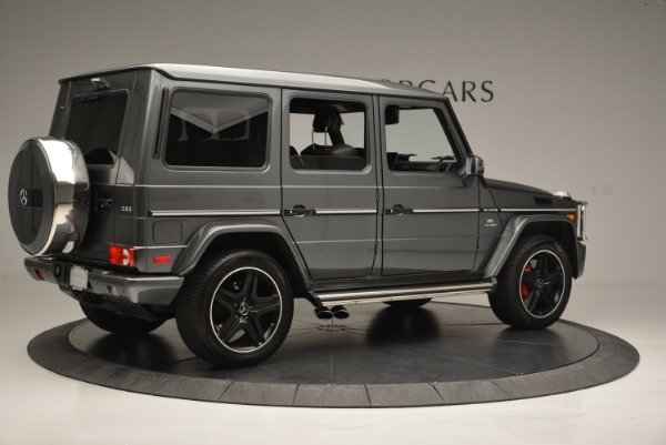 Used 2017 Mercedes-Benz G-Class AMG G 63 for sale Sold at Aston Martin of Greenwich in Greenwich CT 06830 8