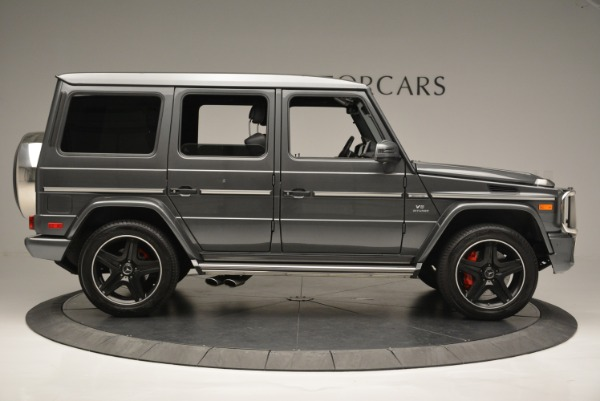 Used 2017 Mercedes-Benz G-Class AMG G 63 for sale Sold at Aston Martin of Greenwich in Greenwich CT 06830 9
