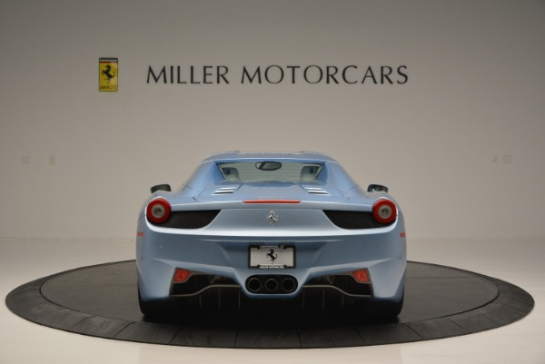 Used 2012 Ferrari 458 Spider for sale Sold at Aston Martin of Greenwich in Greenwich CT 06830 18