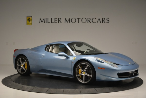 Used 2012 Ferrari 458 Spider for sale Sold at Aston Martin of Greenwich in Greenwich CT 06830 22