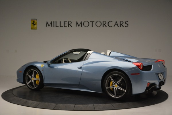 Used 2012 Ferrari 458 Spider for sale Sold at Aston Martin of Greenwich in Greenwich CT 06830 4