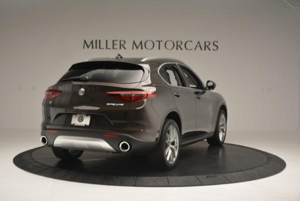 New 2018 Alfa Romeo Stelvio Ti Q4 for sale Sold at Aston Martin of Greenwich in Greenwich CT 06830 7