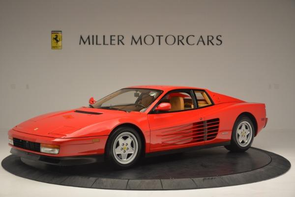 Used 1990 Ferrari Testarossa for sale Sold at Aston Martin of Greenwich in Greenwich CT 06830 2
