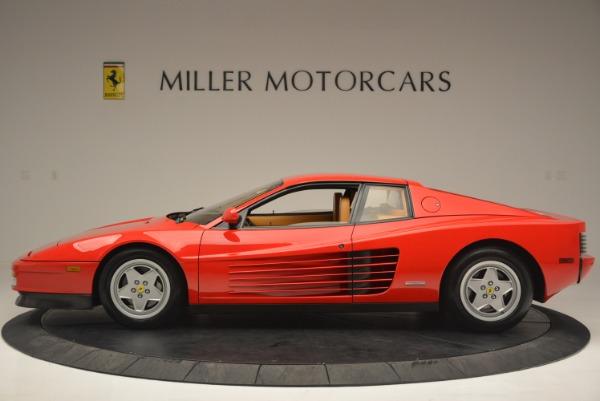 Used 1990 Ferrari Testarossa for sale Sold at Aston Martin of Greenwich in Greenwich CT 06830 3