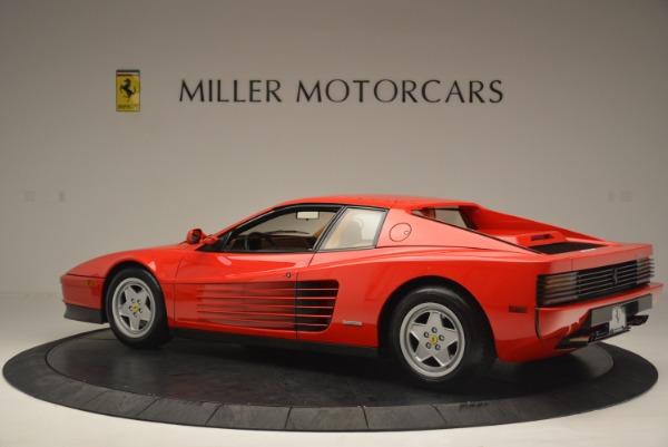 Used 1990 Ferrari Testarossa for sale Sold at Aston Martin of Greenwich in Greenwich CT 06830 4