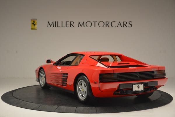 Used 1990 Ferrari Testarossa for sale Sold at Aston Martin of Greenwich in Greenwich CT 06830 5