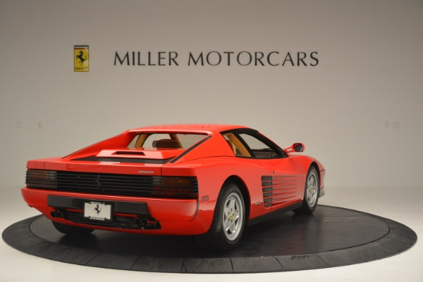 Used 1990 Ferrari Testarossa for sale Sold at Aston Martin of Greenwich in Greenwich CT 06830 7